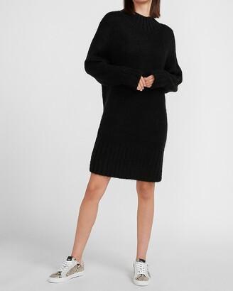 Express X You Mock Neck Sweater Dress