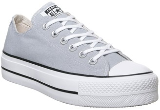 Converse Lift Low Trainers Wolf Grey White