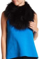 Dena Genuine Fox Fur Knit Infinity Scarf