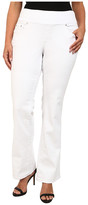 Jag Jeans Plus Size Paley Boot Leg in White