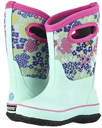 Bogs Classic NW Garden (Toddler/Little Kid/Big Kid) (Aqua Multi) Girls Shoes