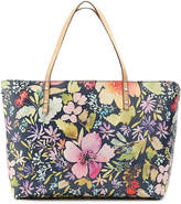 Women's Fillpa Tote -Navy Multicolor