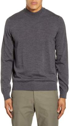 NN07 Martin 6328 Slim Fit Mock Neck Wool Sweater