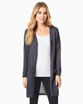 Charming charlie Shimmering Duster Cardigan