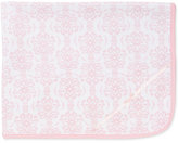 Little Me Baby Girls' Damask Scroll Blanket