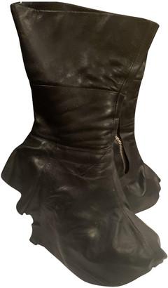 Camilla Skovgaard Black Leather Boots