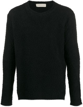 Paura Textured Relaxed-Fit Jumper