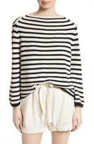 Vince Women's Stripe Cotton Blend Pullover