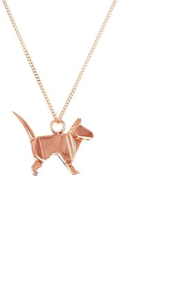 Origami Jewellery Mini Cat Rose Gold