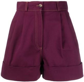 Miu Miu high-waisted shorts