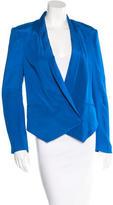 Rebecca Minkoff Silk Single Button Blazer