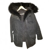 The Kooples Black Cotton Coats