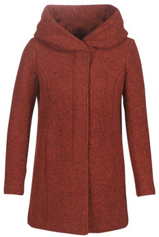Only ONLSEDONA women's Coat in Red