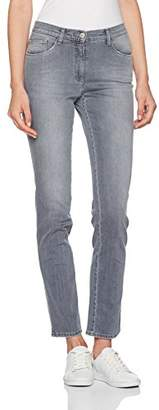Brax Women's BX_Mary Slim Jeans, (Used Silver Grey 5)