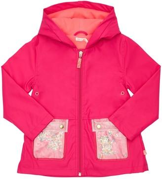 Billieblush Hooded Matte Raincoat