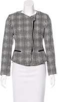 L'Agence Structured Patterned Jacket