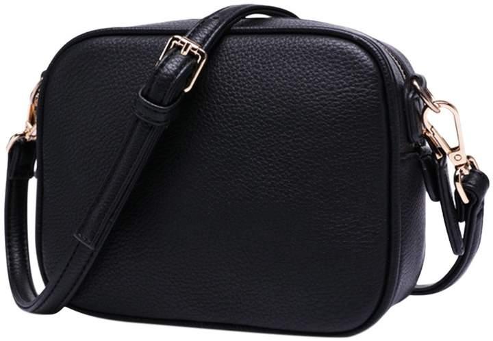 1898d8e5a239 ThinkMax Mini Fashion Lady Shoulder Bag Simple Square Crossbody Bag Leather  Messenger Satchel Bag