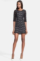 Tracy Reese Lace Print Lace Dress