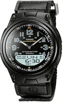 Casio Men's Illuminator World Time Analog & Digital Databank Chronograph Watch