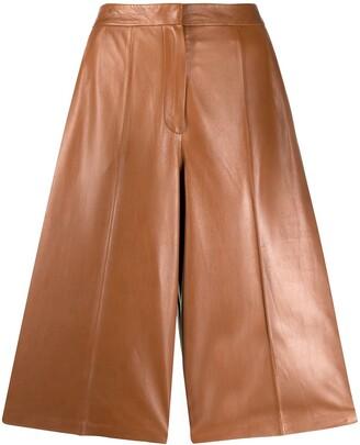 Desa 1972 High-Rise Leather Culottes