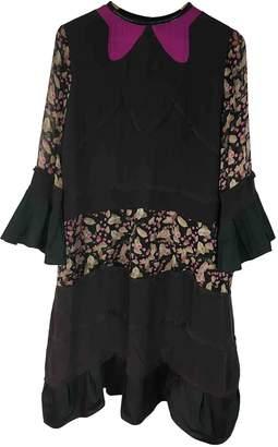 Just Cavalli Black Silk Dresses