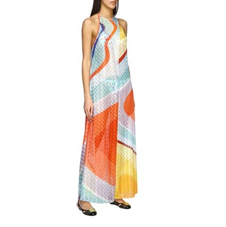 Missoni Mare Tunic Mare Long Cover-up With American Neckline