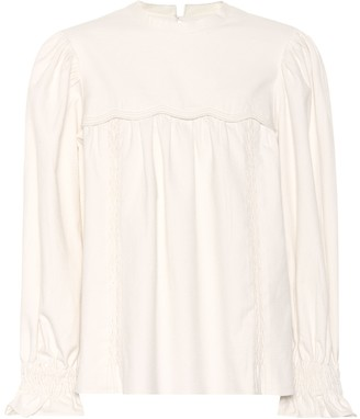 Isabel Marant Wensley cotton top