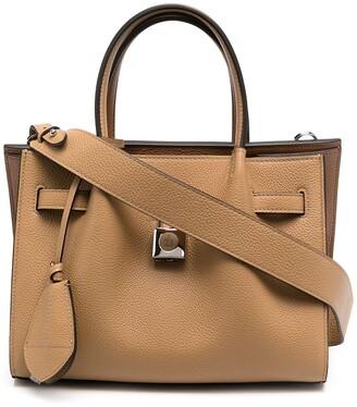 Lanvin Padlock-Detail Tote Bag