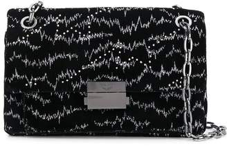 Zadig & Voltaire Ziggy Bowie studded shoulder bag