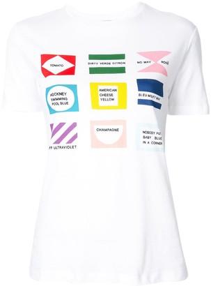 Être Cécile Flags T-shirt