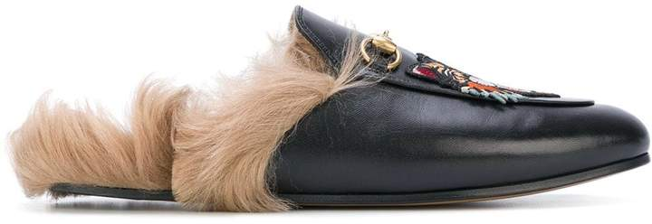f58a146b7004f Gucci Fur Shoes - ShopStyle