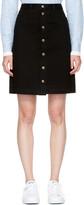 A.P.C. Black Therese Miniskirt