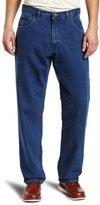 Wolverine Key Apparel Men's Enzyme Washed Denim 5-Pocket Jean