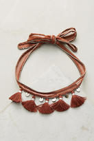 Chan Luu Rubina Tassel Choker Necklace
