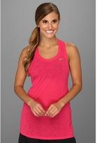 Nike Breeze Tank (Pink Force/Metallic Red Bronze) - Apparel