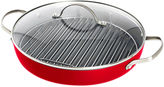Fiesta 11 Ceramic Nonstick Round Grill Pan with Lid