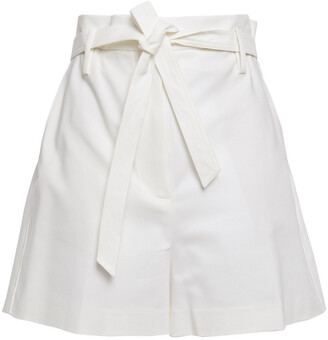 3.1 Phillip Lim Tie-front Cotton-blend Shorts