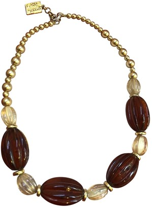 Isabel Marant Brown Pearls Necklaces