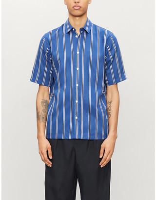 Samsoe & Samsoe Taro striped woven shirt