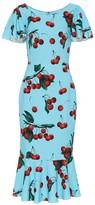 Dolce & Gabbana Exclusive to Mytheresa cherry printed midi dress