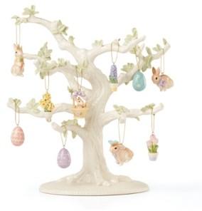 Lenox Celebrate Easter 10pc Ornament Set + Tree Set