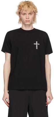 N.Hoolywood Black Logo S/L T-Shirt