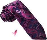 Asstd National Brand Susan G Komen Woven Paisley Tie