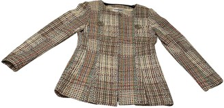 Chanel Ecru Tweed Jackets