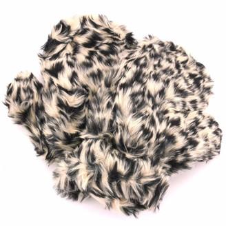 Hawkins Fur Ladies Mittens - Leopard