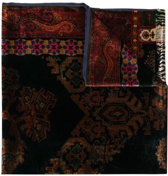Pierre Louis Mascia Kanadas velvet scarf