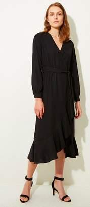 Great Plains Black Easy Occasion Dress - LARGE - Black