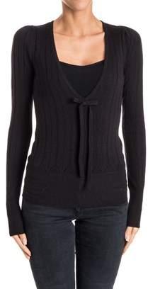 N°21 N21 Women's Black Wool Cardigan