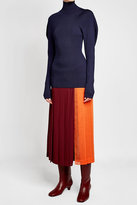 Victoria Beckham Turtleneck Pullover with Wool