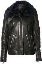 Barbara Bui oversized ribbed jacket